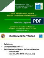 Dieta Mediterranea y SM