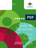 Colonia - Guía de Servicios 2010-2011