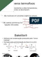 Polímeros termofixos