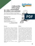 El Peligro de La Sobrevaloracion Del Diagnóstico Del Autismo - Revista Educere - Agosto de 2015