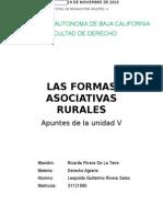 Rivera Salas Leopoldo Guillermo. Apuntes Sobre La Unidad v Relativa a Las Formas Asociativas Rurales.