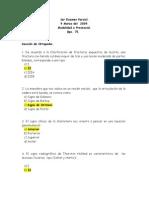 1er Examen Parcial Gpo 75 - 2009