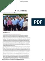 06-11-15 La reunión de EPN con novilleros - Termómetro