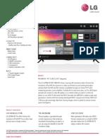 40UB8000 Spec Sheet