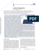 Spatially Confined Assembly of Nanoparticles