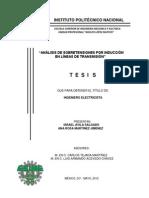 Analisis de Sobretensiones Por Induccion en Lineas de Transmision