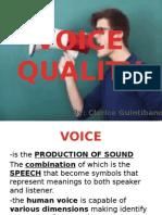 Voice Quality