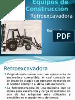 Retroexcavadora y Excavadora