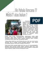 Peristiwa Langka Bus Pahala Kencana Tujuan Jakarta