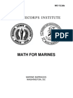 1334H Math for Marines (MCI)