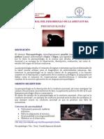 VISIÓN GENERAL DEL DESARROLLO DE LA ASIGNATURA PSICOPATOLOGÍA