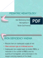 Pediatric Hematology