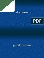 Drainase