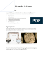 Propiedades Físicas de Los Fertilizantescristian