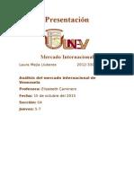 Venezuela- Mercadop Internacional