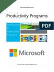 3 Productivity Programs