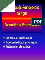 Desinfeccion de Agua Poscosecha