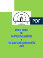 PSC FSIAnnualReport2012