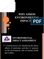 ENVIRONMENTAL IMPACT ASSESSMENT (MSM3208) LECTURE NOTES 4-Why Assess Environmental Impacts