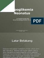 Hipoglikemia Neonatal