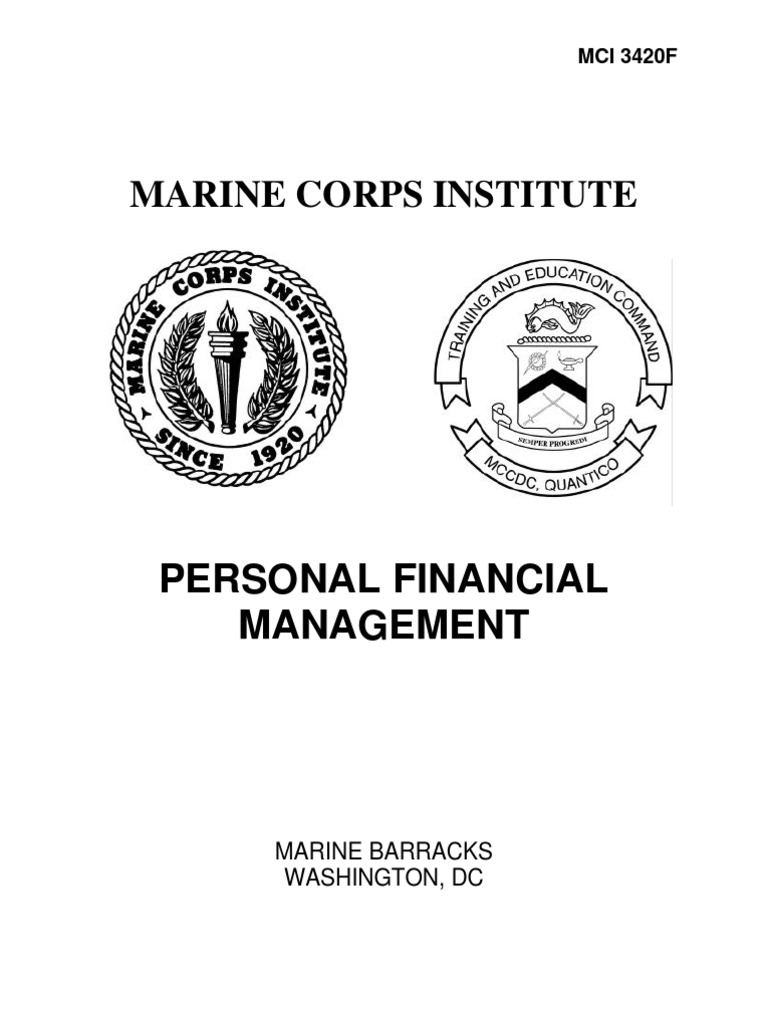 Worksheets Marine Corps Financial Worksheet 3420f personal financial management mci federal insurance contributions act tax withholding tax