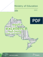 Ontario Ministry of Education Style Guide