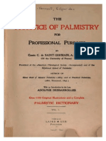 The Practice of Palmistry for Professional Purposes - Counte de Germaine