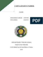 Tugas Menajemen Pabrik.doc Cover x