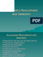 Successful Recruitment and Selection