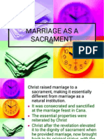 5.Marriage as a Sacrament