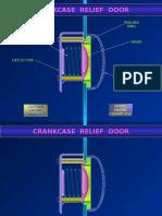 Crankcase Relief Door