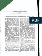 53. Sears_Balanced Occlusions JADA 1925 Dec;12 1448