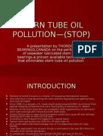 Stern Tube Oil Pollution