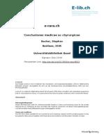 Conclusiones Medicae Ac Chyrurgicae-Basel-1595