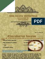 la comida de don quijote ppt  1