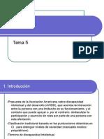 Tema 5. Diversidad Funcional Intelectual