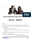 Ielts Speaking Tips and Samples - Ielts Simon