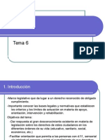 Tema 6. Tratamiento Jurídico de La Diversidad Funcional