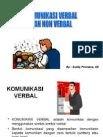 Komunikasi Verbal Dan NonVerbal
