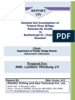 Revised Geo Technical Reports of Trishuli River Bridge at Nuwakot
