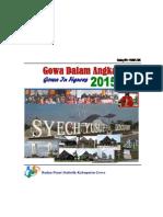 Kabupaten Gowa Dalam Angka 2015