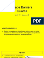unit 13 - lesson 5 - quotas