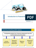 Introduction to Financial Statements