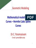 3 Hermite Cubic Curves