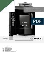 Manual espressor Bosch