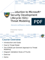 Introduction to Threat Modeling