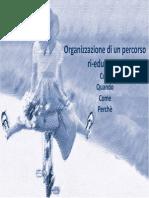 10 Organizzazione Di Un Percorso Ri-educativo