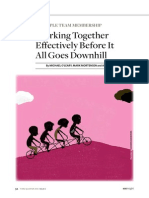 Working Together Effectively Before It A