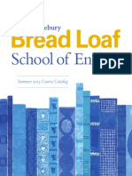 Bread Loaf S.O.E Brochure