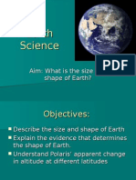 1 Earth's Shape and Size